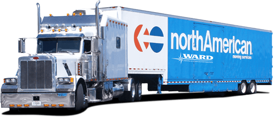 Ward northAmerican moving trailer