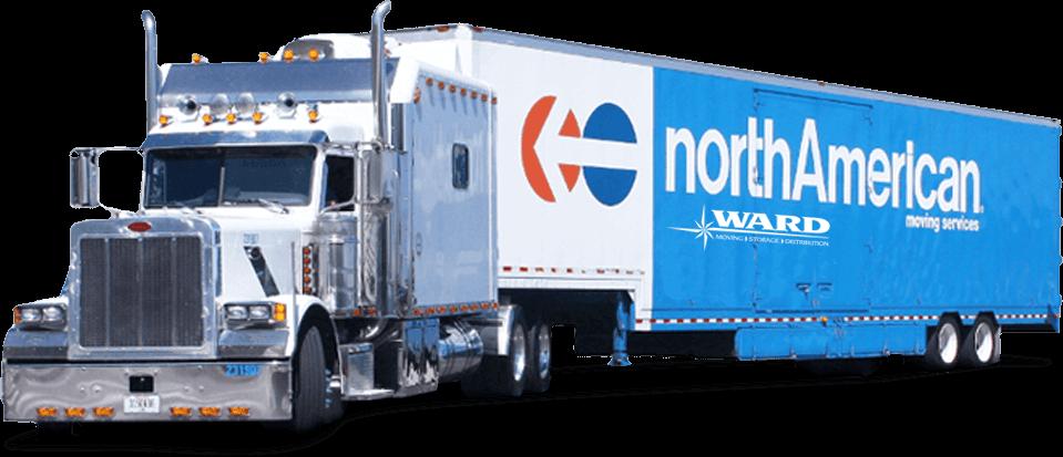 Ward northAmerican moving trailer